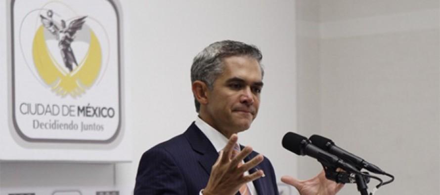 Celebra Mancera aprobación de paquete presupuestal histórico para 2015