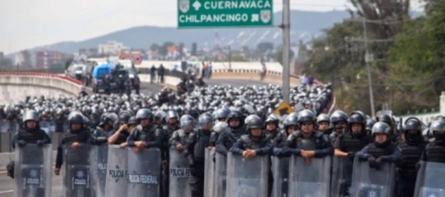 Policía Federal impedirá más bloqueos en Autopista del Sol, advierte Galindo