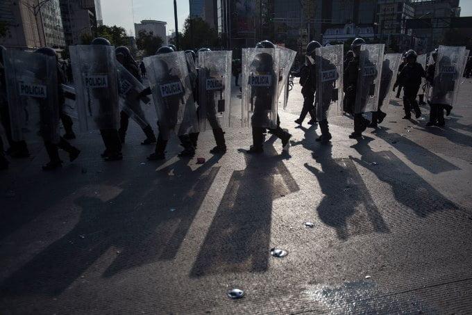 policias df protesta med