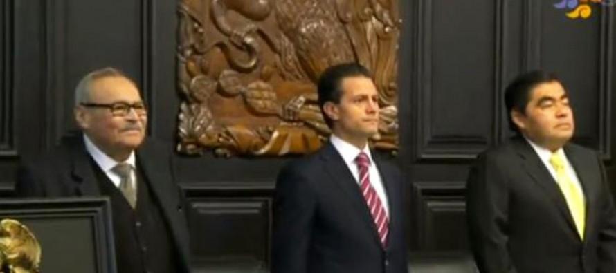 En sesión solemne, Senado entrega la Belisario Domínguez