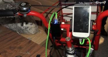 La BUAP diseña bicicleta generadora de energía