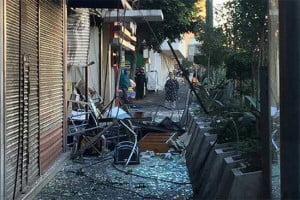 Explosión en cafetería-Del Valle