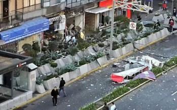 Diez lesionados por explosión de cafetería en la colonia Del Valle