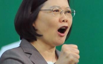 Tsai Ing-wen es elegida primera presidenta de Taiwan