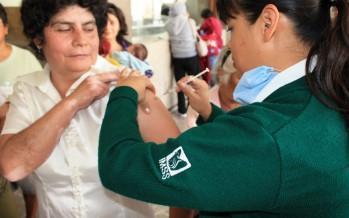 Disminuyeron 80% los casos de influenza en 2015