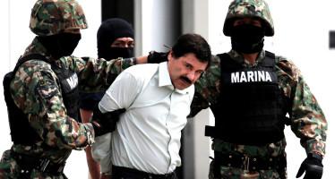 """Integrantes de la Armada detienen a """"El Chapo"""" en Los Mochis, Sinaloa"""