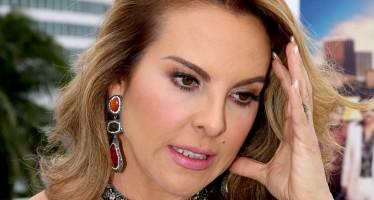 """Kate del Castillo no se presentó a declarar ante la PGR, en el caso del """"Chapo"""""""