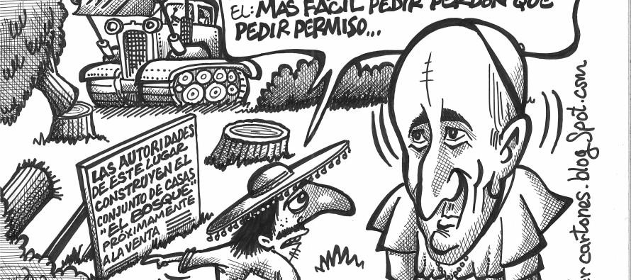 El humor de Luis Xavier.