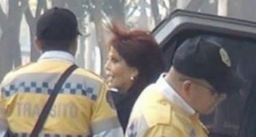 Rendirán informe policías que perdonaron infracción a Alejandra Guzmán