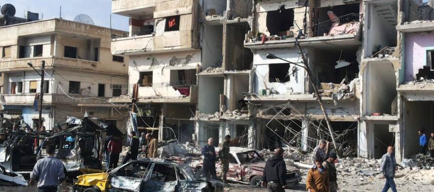 Aumenta a 184 la cifra de muertos por atentados en Damasco y Homs, Siria