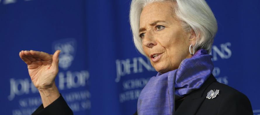 Ratificarán a Christine Lagarde por un nuevo mandato de 5 años al frente del FMI