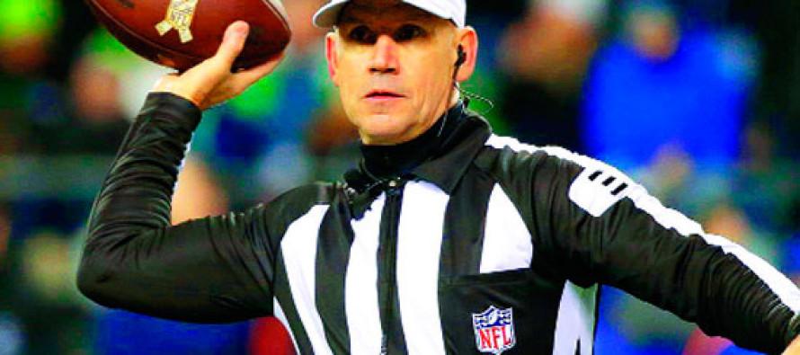 Clete Blakeman estará en la controversia arbitral del Súper Bowl