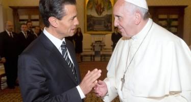 Visita del Papa a México es el encuentro de un pueblo con la fe: EPN
