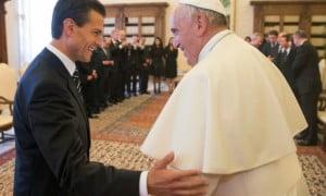 EPN y Papa visitará Palacio Nacional
