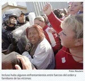 Furia de familiares de reclusos en Topo Chico