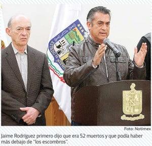 El gobernador de Nuevo León informa acerca de la riña en el penal