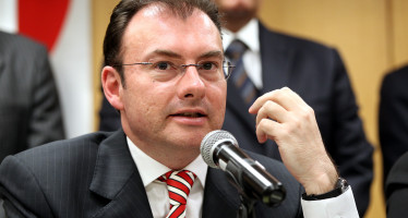 """Se refleja """"claramente"""" una dirección correcta en la economía nacional: Luis Videgaray"""