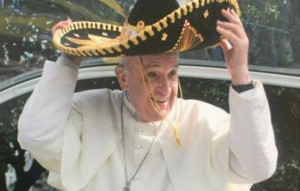 Papa con sombrero charro
