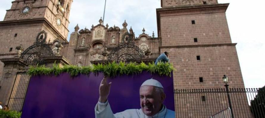 El Papa pide no resignarse, ante el clima de crimen y violencia que campea en Michoacán