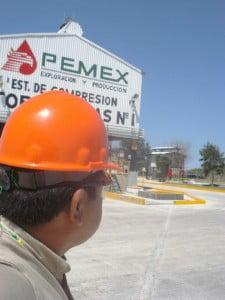 Pemex-estación de compresión