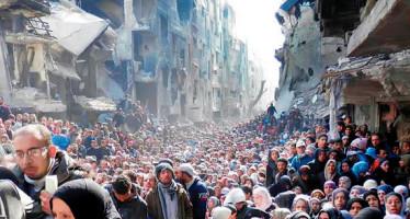 Sesenta millones de personas huyeron de guerras y desastres naturales durante 2015: ONU