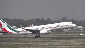 avion presidencial de México