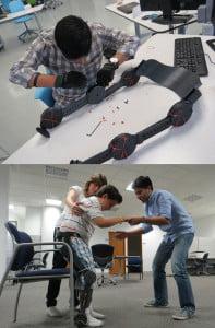 exoesqueleto desarrollo en el ITESM