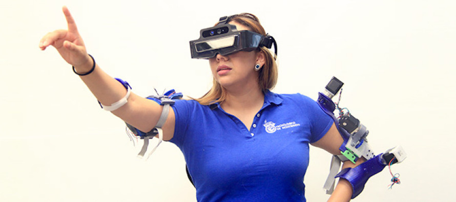 Estudiantes del ITESM desarrollan exoesqueletos para rehabilitación