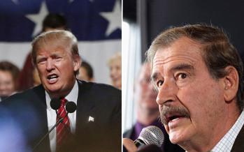"""Fox arremete contra Trump en entrevista: """"Yo no voy a pagar por ese jodido muro"""""""