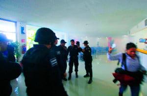 gas lacrimógeno en elección del PRD en Oaxaca