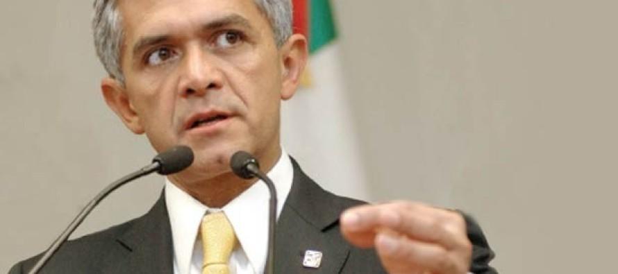 Recorte de presupuesto a la Ciudad de México afectará varios de sus proyectos: Mancera