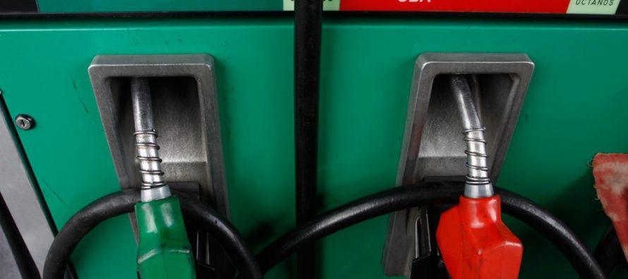 Gasolinas subirán 3 centavos este fin de semana; diésel, sin cambio