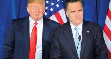 """Trump, """"farsante"""" que llevaría al país """"al abismo"""": Mitt Romney"""