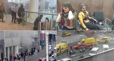 Atentados ponen en alerta máxima a Bélgica; la ciudad está paralizada