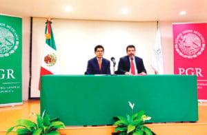 Eber Omar Betanzos y Ricardo Damián Torres