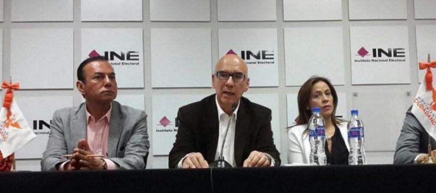 """Admite Movimiento Ciudadano que la lista nominal salió de ellos; la subieron para """"resguardarla"""""""