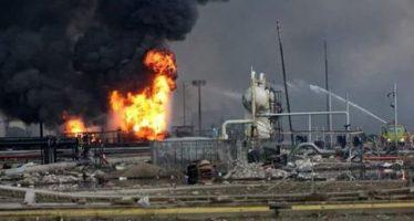 Van 13 muertos y 136 heridos por explosión de planta de Pemex en Coatzacoalcos