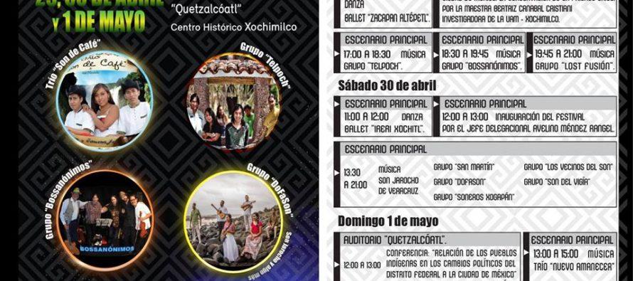 Xochimilco tendrá su Décimo Festival Cultural Autóctono 2016