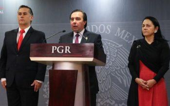 La PGR investigará actuación de funcionarios en Cocula, por el caso de los 43