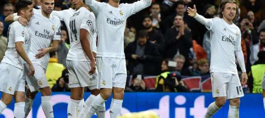 Real Madrid se impone 3-0 al Wolsburgo y va a semifinales en la Liga de Campeones