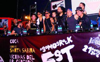 Carpa Astros convocará el ambiente de los 90 en el #SomosRockFest
