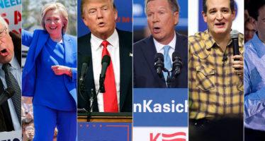 """Supermartes """"emocionante"""" se vive en EU para definir a los candidatos presidenciales"""