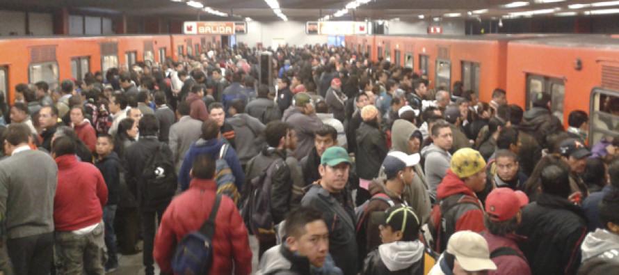 Se registró 7.7% más afluencia de usuarios en el metro los días de contingencia