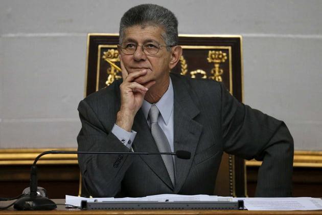 Ramos Allup, presidente de la Asamblea
