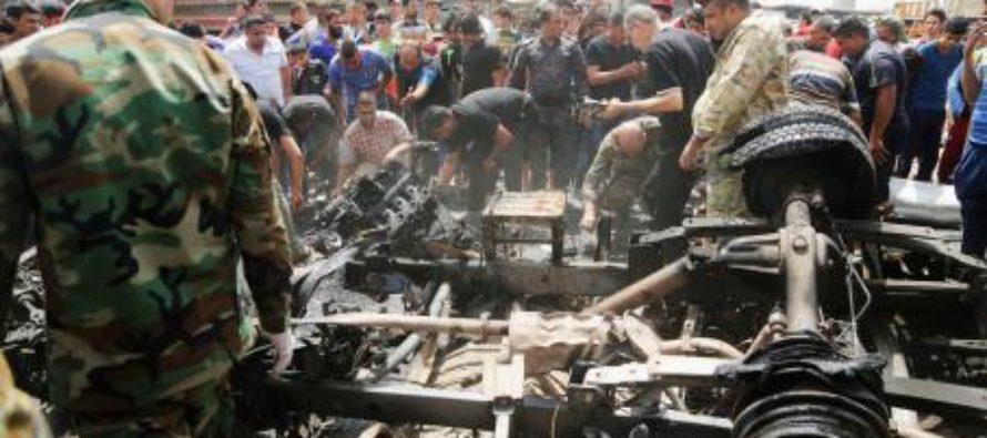 Saldo inicial de 93 muertos en tres atentados con coche bomba en Bagdad