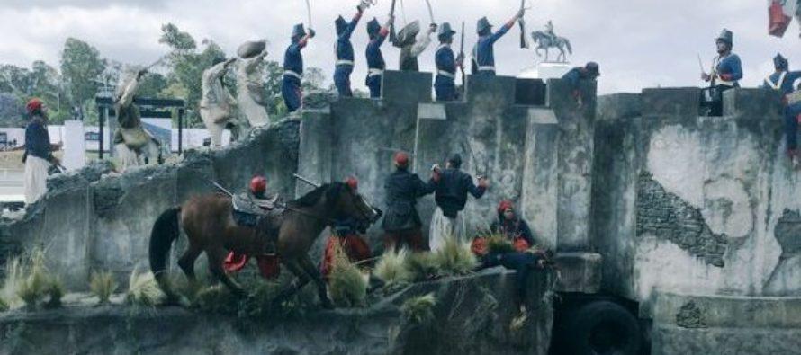 Conmemoran el 154 aniversario de la Batalla de Puebla