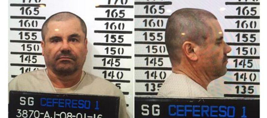 """De acuerdo a protocolo, trasladan al """"Chapo"""" a penal de Ciudad Juárez"""