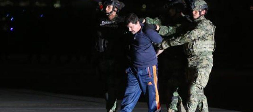 """Concede México la extradición del """"Chapo"""" a los Estados Unidos"""
