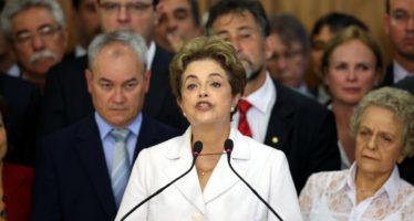 Brasil en lucha interna, luego de la suspensión del mandato de Rousseff