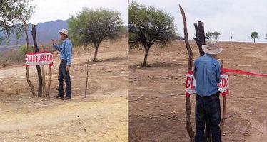 Profepa clausura obras y actividades de cambio de uso de suelo en Calvillo
